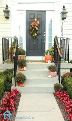 Create a Welcoming Fall Entryway   Just Imagine - Daily Dose of Creativity