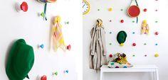 DIY: Percheros para decorar habitaciones infantiles