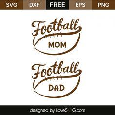 Football Mom and Football Dad - Soccer Photos Cricut Vinyl, Svg Files For Cricut, Cricut Fonts, Cricut Air, Football Mom Shirts, Football Stuff, Free Football, Football Quotes, Free Svg Cut Files