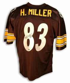 f6ef937fb Heath Miller Autographed Pittsburgh Steelers Black Throwback Jersey .   424.65. Heath Miller Autographed Pittsburgh Steelers