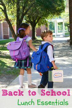 Back to School Lunch Supply Essentials List