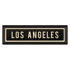 Dot & Bo Los Angeles Sign ($54) ❤ liked on Polyvore featuring home, home decor, wall art, quotes, words, angel wall art, quote wall art, los angeles wall art, word wall art and text signs