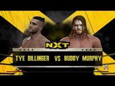 WWE 2K16: Tye Dillinger vs. Buddy Murphy (NXT August 31,2016) - YouTube