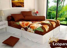 SpreiMaster: Sprei & Bed Cover Santika Leopard