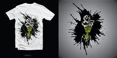 Grotesque Art T-shirt design!