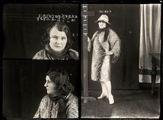 Career criminal: Edith Ashton, was a backyard abortionist who also dabbled in theft and fencing stolen goods. Described in the media as a 'social somebody' she was suspected of contributing to the deaths of at least two women during abortions Amy Lee, Hemsworth, Old Photos, Vintage Photos, Vintage Magazine, Mug Shots, Portraits, Illustrations, Graphic