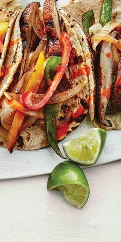 Portobello mushroom fajitas are about to be your new summer go-to recipe. | Health.com