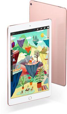 L'iPadPro livre une puissance vertigineuse, désormais disponible en deux formats: 12,9pouces et 9,7pouces. Découvrez la puce A9X, l'écran Retina sophistiqué et l'appareil photo iSight 12Mpx, entre autres atouts.