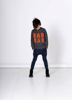 Minti Boys Rad Rad Knit Crew