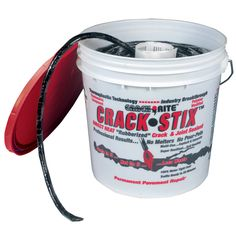 125ft. Medium Black Crack Stix! The ONLY permanent solution to blacktop crack and joints. Lifetime Guarantee.