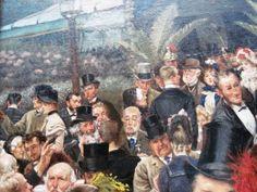 """Arteeblog: A História de """"The Artist's Ladies"""" de James Tissot 1885"""