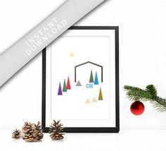 Minimalist Nativity