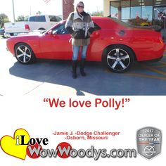 """We love Polly!""  Ja"