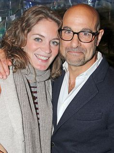 Stanley Tucci and Felicity Blunt. The Hunger Games actor and the literary agent were quietly married in June 2012 and then tied the knot a second time with family and friends present at London's Middle Temple Hall Sept. 29 2012