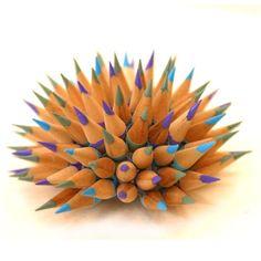 Custom Pencil urchin. $200.00, via Etsy. Jennifer has a shop on Etsy!