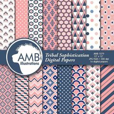 SCRAPBOOKING PAPER CONTEST Gooooooood Morning facebook friends! Win  these Sophisticated pink and marine geometric -tribal papers HOT OFF THE DRAWING TABLE this morning! I just put them up!  READ CAREFULLY! LIKE and COMMENT. The winner will be selected at random.... You have till midnight EST time -Sunday August 7th  2016.  This paper pack is available here: http://etsy.me/2aPSg10  For more clipart packs and scrapbooking papers on sale NOW @ .99 cents a pack.... click here…