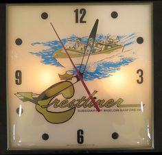 Remington Vintage Clock Old 1950 Antique Gun Store
