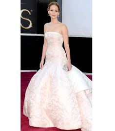jennifer lawrence at oscars 2013