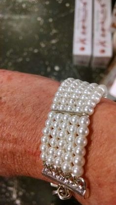 Looks like a beautiful bracelet but it's really a restraining device. She can wear all day and think about the fun they had the night before! Www.pepperspartiestoo.com The Night Before, Bachelorette Parties, Beaded Bracelets, Diamond, Fun, How To Wear, Beautiful, Jewelry, Bridal Showers