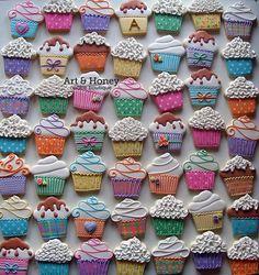 Art & Honey - Cupcake cookies