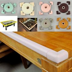 Extra Thick Baby Table Desk Edge Guard Protector Bumpers 4 Corners