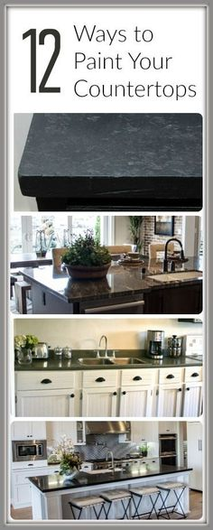 our kitchen update with giani granite countertop paint