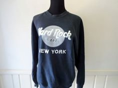 Vintage Hard Rock Cafe New York Sweatshirt by WylieOwlVintage, $20.00