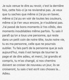 Bad Quotes, True Quotes, Words Quotes, French Quotes, Bad Mood, Sad Love, Some Words, Be Yourself Quotes, Decir No