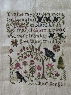 """Their Song"" Blackbird Designs"