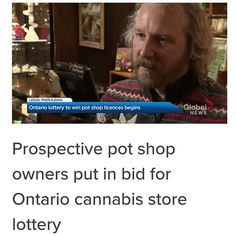 wanted to know our thoughts on the cannabis licencing lottery - Click the link in our bio for the full story Queen Street West, Cannabis News, Global News, Ontario, Toronto, Peace, Thoughts, Link, Instagram
