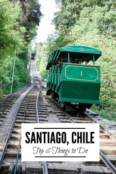 Santiago, Chile is a very walkable city to explore with many attractions and awesome food. Check out these top 5 things to do in Santiago, Chile! | www.eatworktravel.com - The luxury, adventure couple!