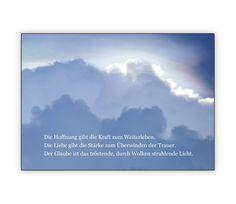 Die Hoffnung gibt die Kraft zum Weiterleben... Trauerkarte - http://www.1agrusskarten.de/shop/die-hoffnung-gibt-die-kraft-zum-weiterleben-trauerkarte/    00000_1_2593, Beileid, Beistands Karten, Grusskarte, Klappkarte, Kondolenzkarte, kondolieren, Tod, Trost Karten, trösten00000_1_2593, Beileid, Beistands Karten, Grusskarte, Klappkarte, Kondolenzkarte, kondolieren, Tod, Trost Karten, trösten