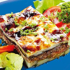 Musaka, Pepperoni, Vegetable Pizza, My Recipes, Quiche, Vegetables, Breakfast, Food, Minden