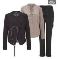 Check out 1 blazer - 3 styles #styles #combination #outfit #fashion #blazer #black