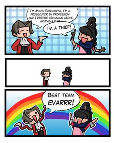 Ace Attorney logic by ~Berendsnors-Fanart