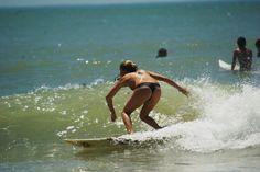 #Surfing #surfer girl #beach