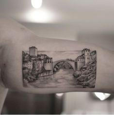 Mostar Bridge Tattoo🇧🇦