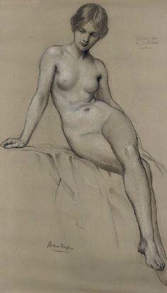 Study for a Bather - Herbert James Draper