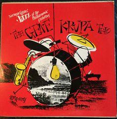 "Norman Granz' JATP Presents the Gene Krupa Trio - Mercury Records MGC-100 (12"" LP)"