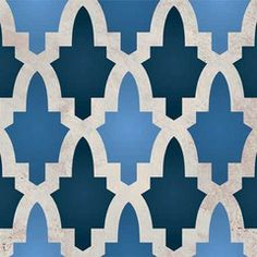 The classic Moroccan pattern Moroccan Arches Furniture Stencil in a smaller scale perfect for painted furniture, dressers, tables, and cabinets. Available as a larger wall stencil size: Moroccan Arche