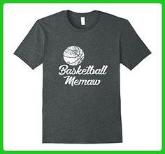 Mens Basketball Memaw Shirt, Cute Funny Player Fan Gift Large Dark Heather - Sports shirts (*Amazon Partner-Link)