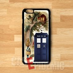 Alice meet tardis -srwe for iPhone 4/4S/5/5S/5C/6/ 6+,samsung S3/S4/S5/S6 Regular,samsung note 3/4