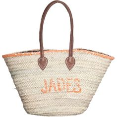 Best Of 19 Beach Jades Orange Straw Bag With Sequins ($90) ❤ liked on Polyvore featuring bags, handbags, woven straw handbags, retro handbags, straw handbags, beach purse and beach bag