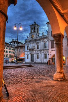 udine by Maurizio Blasetti, via Flickr (This is where my father's side of the family came from)