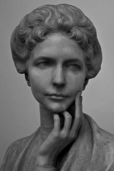 Wow I've never seen such sensitivity in expression as this sculpture. She is on the verge of crying.Beautiful. – ZC Pietro Canonica, 1869 — 1959