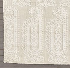 Chal Rug Swatch - Ivory