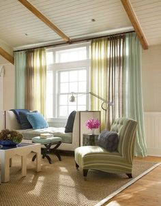 Interplan #gordijnen Oase | Kleur! | Multi color | Pinterest