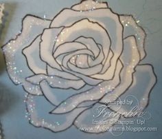 Stamp & Scrap with Frenchie: Stampin'Up! Fifth Avenue Floral color with Bleach Video tutorial.