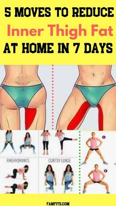 Fitness Workouts, Easy Workouts, Workout Routines, Reduce Thigh Fat, Exercise To Reduce Thighs, Cellulite Exercises, Thigh Exercises, Workout Exercises, Upper Thigh Workouts