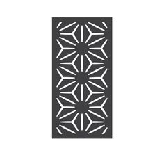 OUTDECO in. x 24 in. x 48 in. Star Anais Modular Hardwood Composite Decorative Fence Panel at The Home Depot - Mobile Exterior Stain, Interior And Exterior, Interior Design, Decorative Fence Panels, Composite Fencing, Timber Slats, Frame Stand, Deck Railings, Higher Design